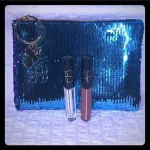 NARS 2 gloss & Studio 54 Sequin bag